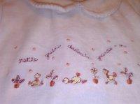 detail pyjama
