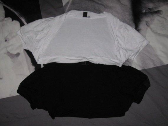 Chauffe epaule 1 blanc/1 noir 3€ l'unité ( Le noir est vendu)