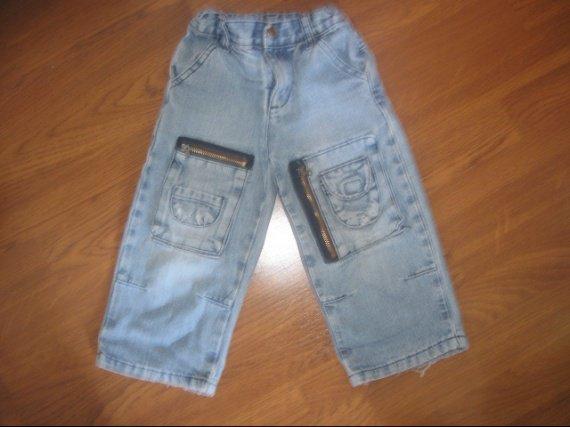 Jean fashion ( bas legèrement usé ) 3€ ( taille reglable )