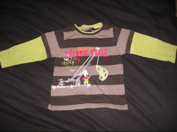 tee shirt ML tres beau peu porté 4€