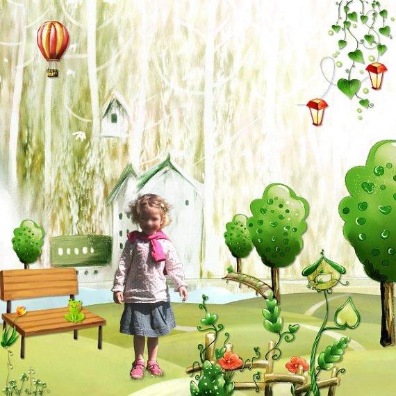 0904 - fantasy garden