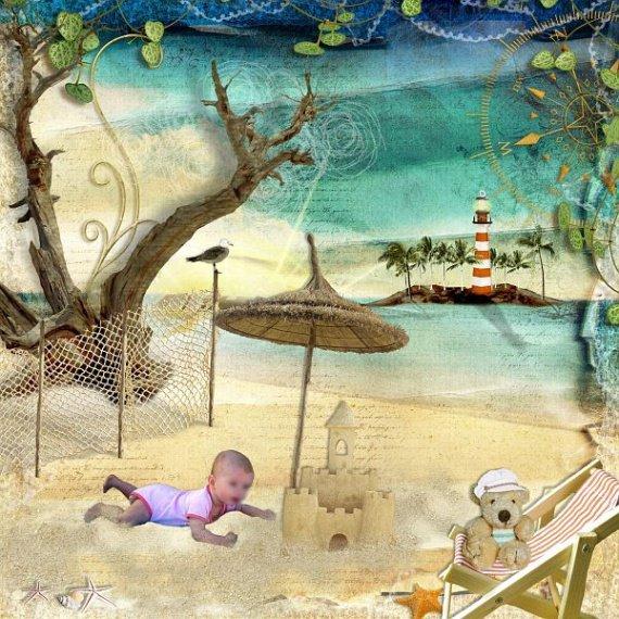 0807 - sur le sable