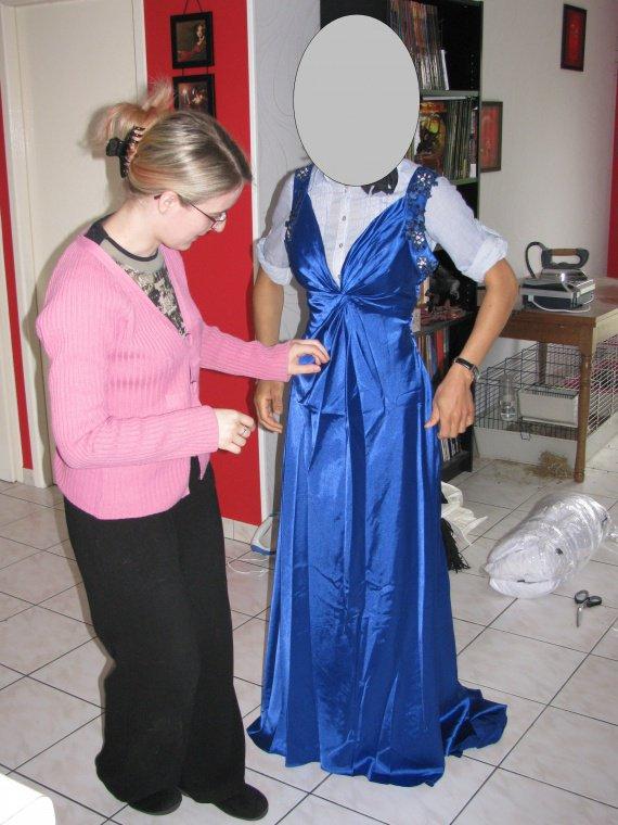 Robe d'une copine
