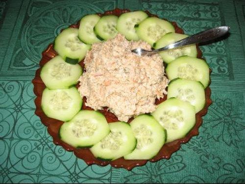 Tartare de saumon au concombre1