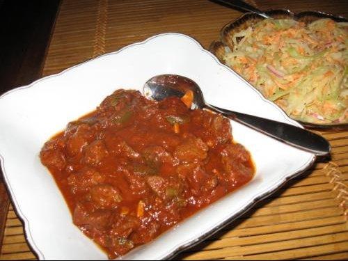 Chili con carne et coleslaw3