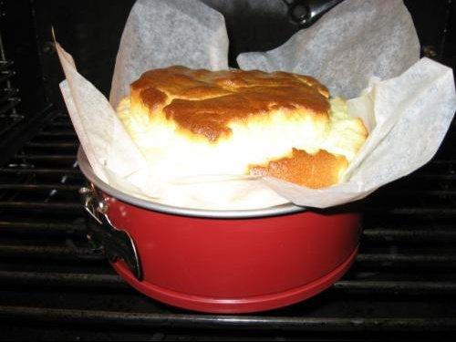 Cuisson cheesecake