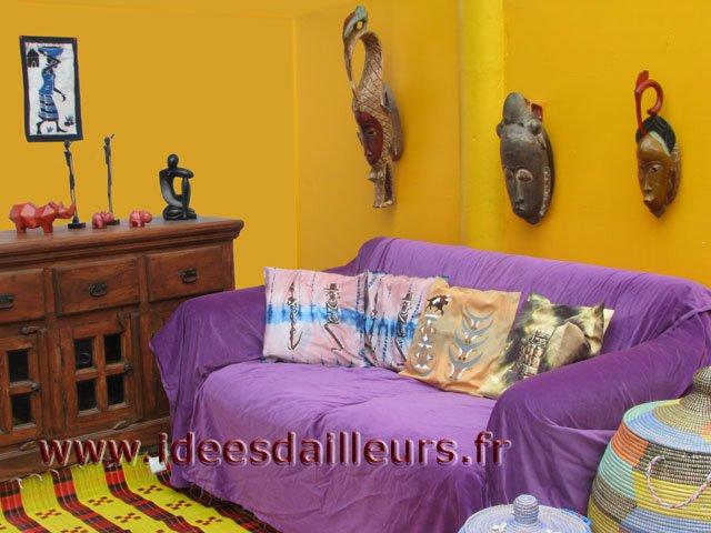 idée couleur peinture style africain salon - Décoration - FORUM Vie ...