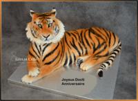 Gateau tigre 1 an