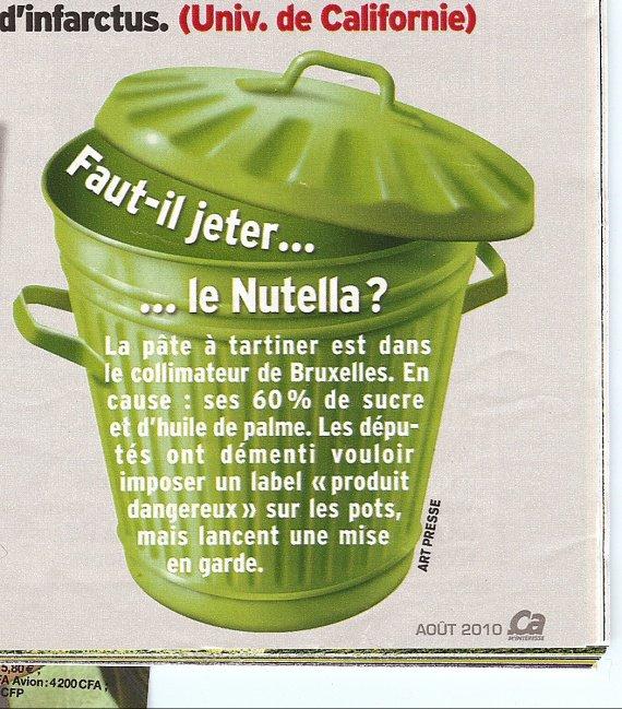 Nutella c dangereux !