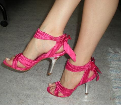 Chaussures roses 2