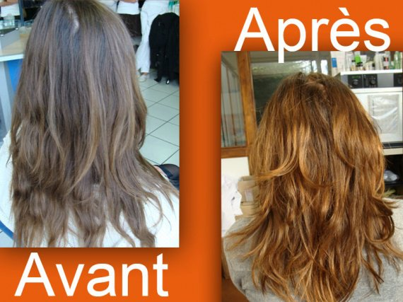 Coloration naturelle cheveux de mini