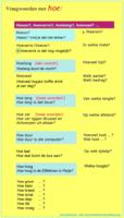 vraagwoorden met HOE