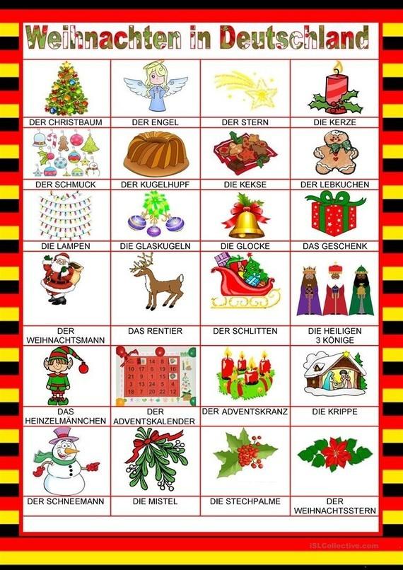 Weihnachten in Deutschland - Deutsch lernen (German
