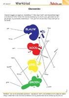 Bijvoeglijke naamwoorden (adjectieven) : kleurwoorden [2]