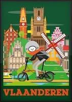 Poster Vlaanderen