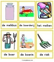 Boerderij (woordkaarten) 01