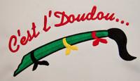Broderie - C'est l'Doudou ...