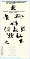 De relatieve bijzin (beroepen / silhouetten)