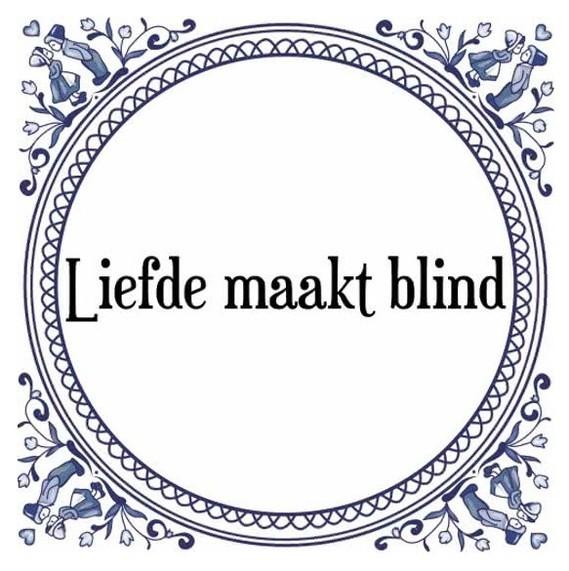 liefde is blind betekenis