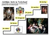 Adellijke titels in Nederland