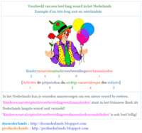 Voorbeeld van een heel lang woord in het Nederlands