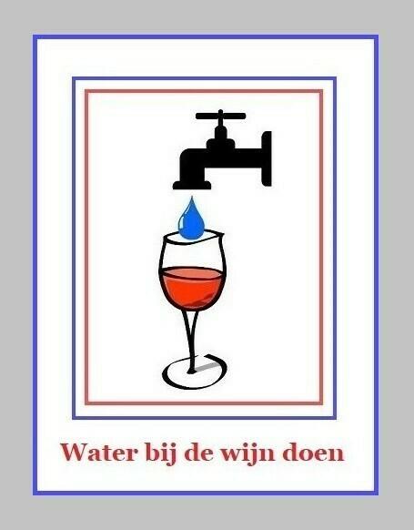 Water Bij De Wijn Doen Nederlandse Gezegden Spreekwoorden