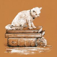 Als de katten muizen, mauwen ze niet.