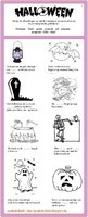 Halloween (woordenschatoefening) [2]