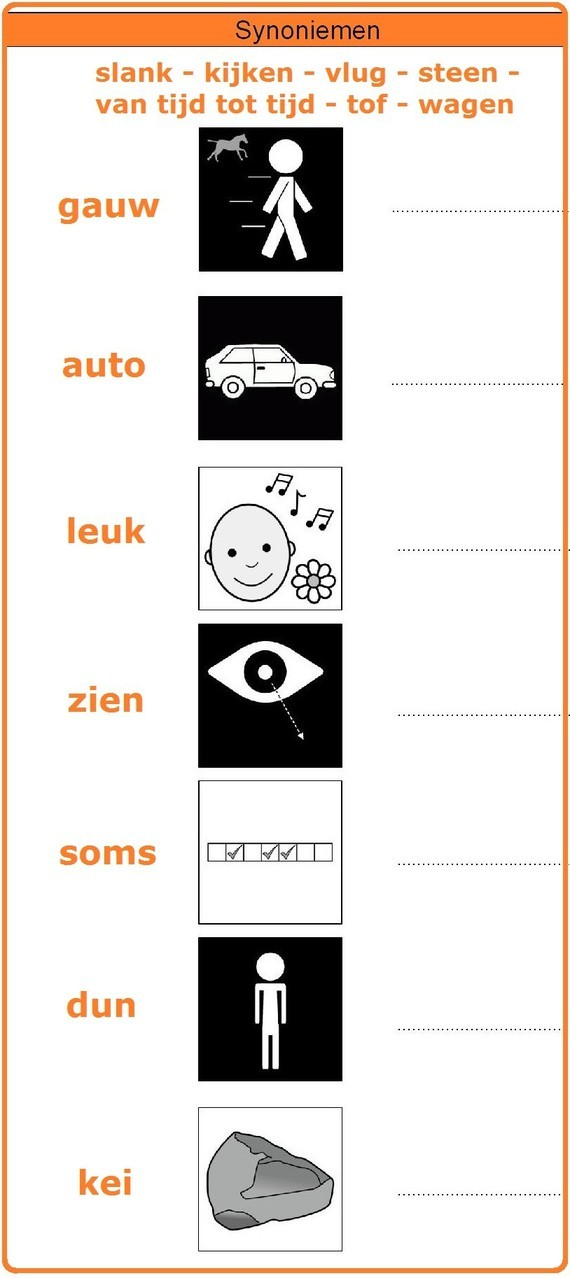 Synoniemen (b)
