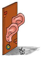 De muren hebben oren - uitdrukking
