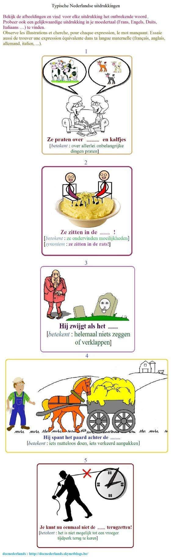 Nederlandse uitdrukkingen