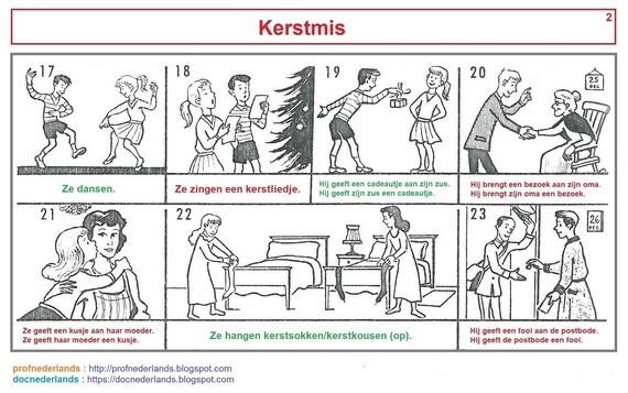 Woordenschat : Kerstmis (2)