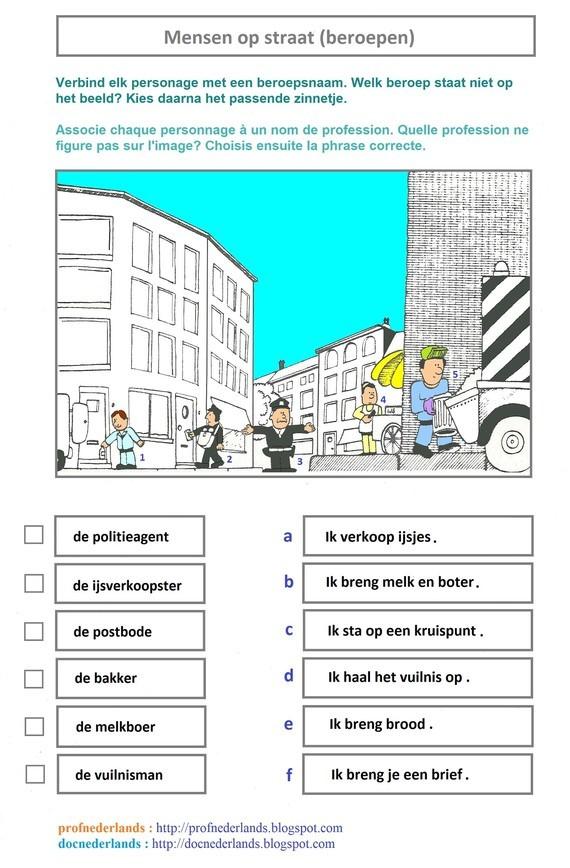 Mensen op straat (beroepen)