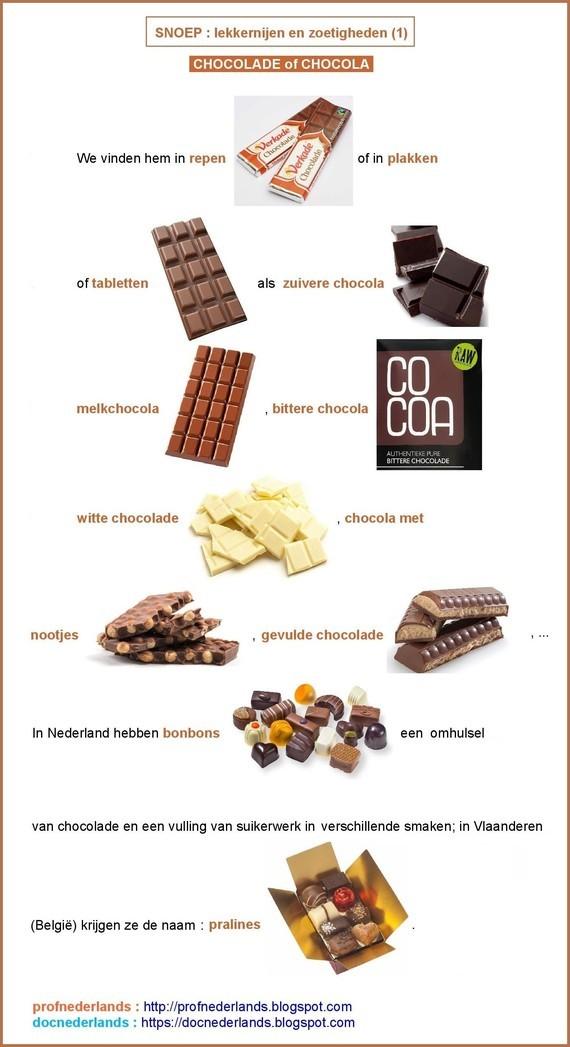 Snoep - lekkernijen en zoetigheden (1)
