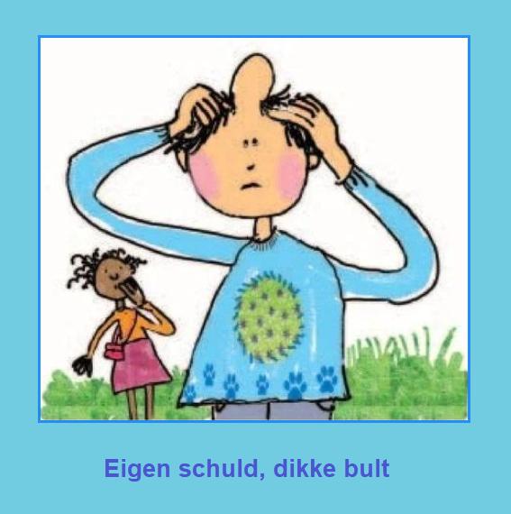 Eigen Schuld Dikke Bult Nederlandse Gezegden