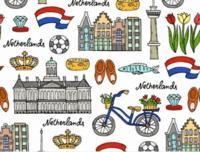 Poster Nederland (symbolen)