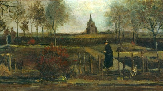 Peinture volée de Van Gogh