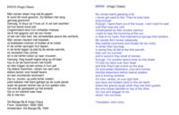 ENVOI (01) : Hugo Claus (Nederlands, Engels)