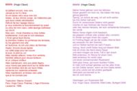 ENVOI (02) : Hugo Claus (Frans, Duits)