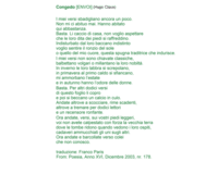 ENVOI (03) : Hugo Claus (Italiaans)