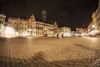 Grand-Place de Mons (la nuit)