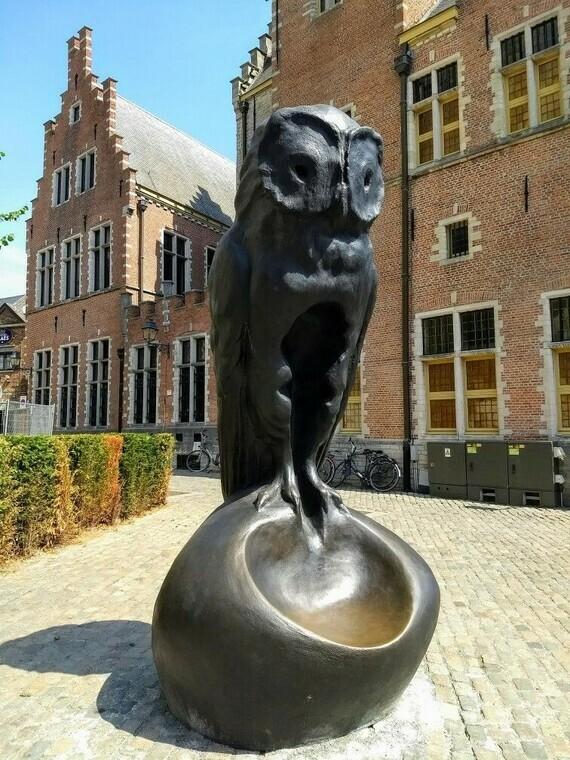 De uil, Johan Creten (Mechelen)
