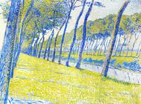 Canal in Flanders (1894), Theo van Rysselberghe