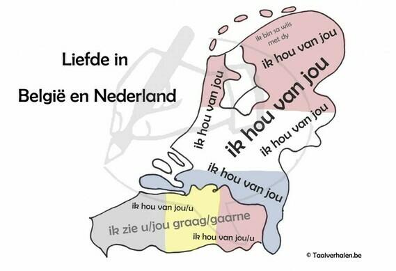 Liefde in België en Nederland