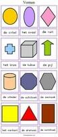 Meetkundige vormen, geometrische vormen
