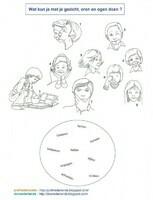 Wat kun je met je gezicht, oren en ogen doen?