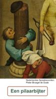 Een pilaarbijter (Nederlandse of Vlaamse spreekwoorden, Pieter Bruegel de Oude)