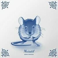 Muisstil / zo stil als een muis