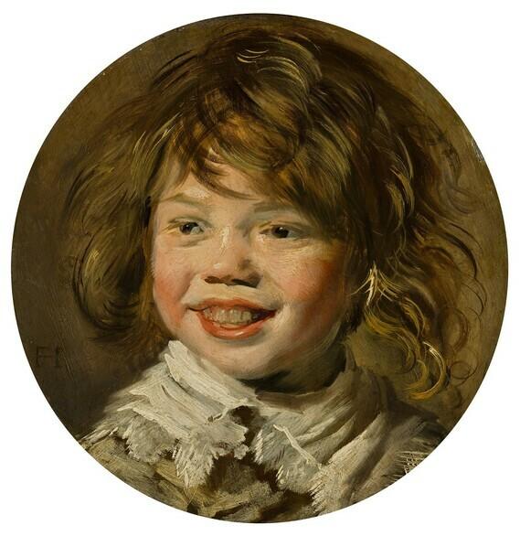 Frans Hals, Jeune garçon riant, vers1620-1625, huile sur panneau, Mauritshuis, La Haye