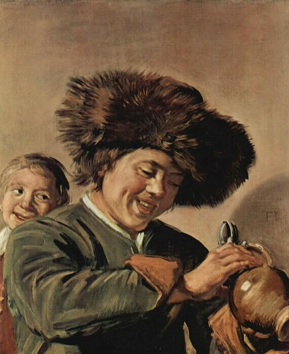 Frans Hals, Deux jeunes garçons riant, c.1626, huile sur toile